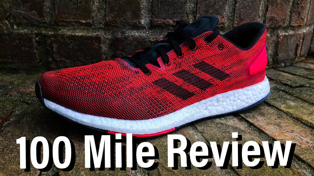 bac392fc1e8 Adidas Pureboost DPR 100 MILE REVIEW - YouTube