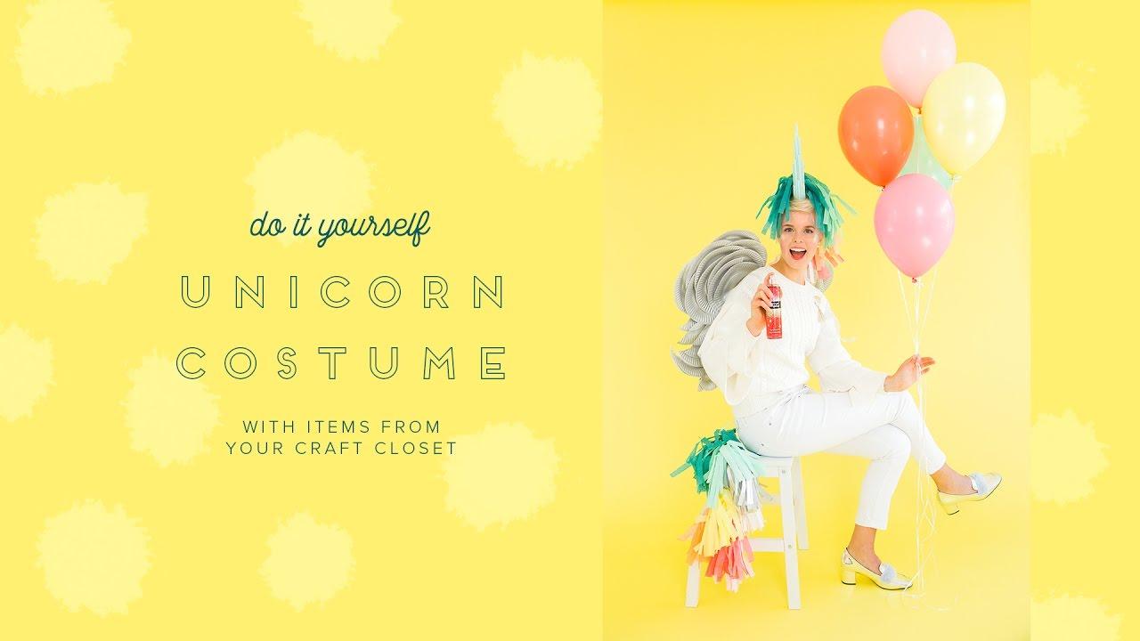 How to make a diy unicorn costume with items from around your house how to make a diy unicorn costume with items from around your house youtube solutioingenieria Choice Image