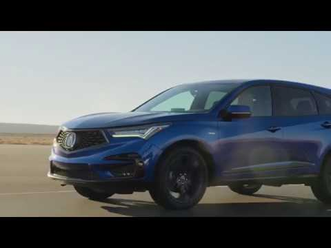 2019 Acura Rdx A Spec Signature Blue Pearl Youtube