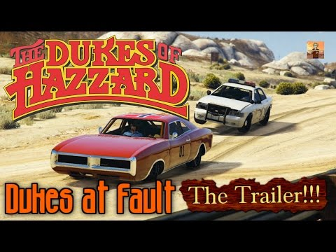 The Dukes of Hazzard Tribute Episode #2: Dukes at Fault!!! (TRAILER) (GTA V Rockstar Editor Movie)