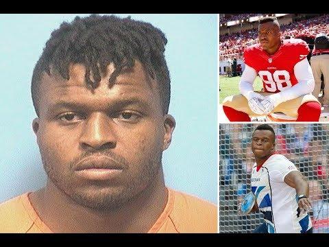 British Olympian turned NFL hopeful Lawrence Okoye arrested in Alabama in prostitution sting