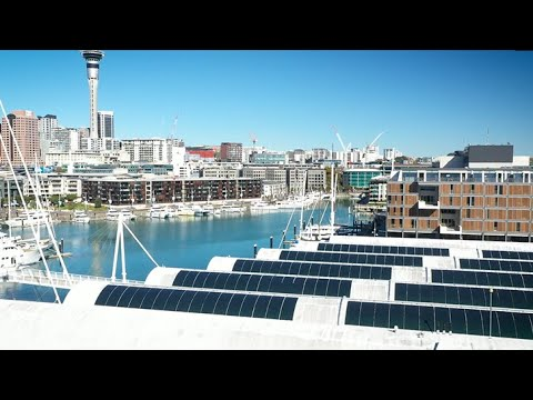 Solar Powering the Emirates Team New Zealand Base | Genesis