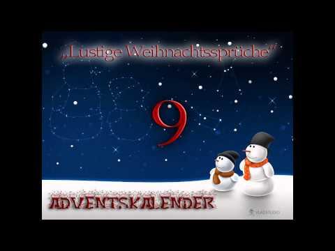 Lustiges Weihnachtssprüche.Adventskalender 9 Lustige Weihnachtssprüche