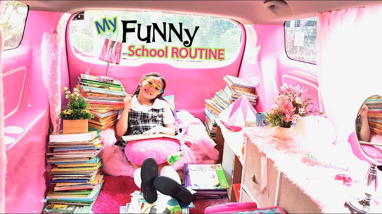 Bug S Funny School Routine My A Life Youtube