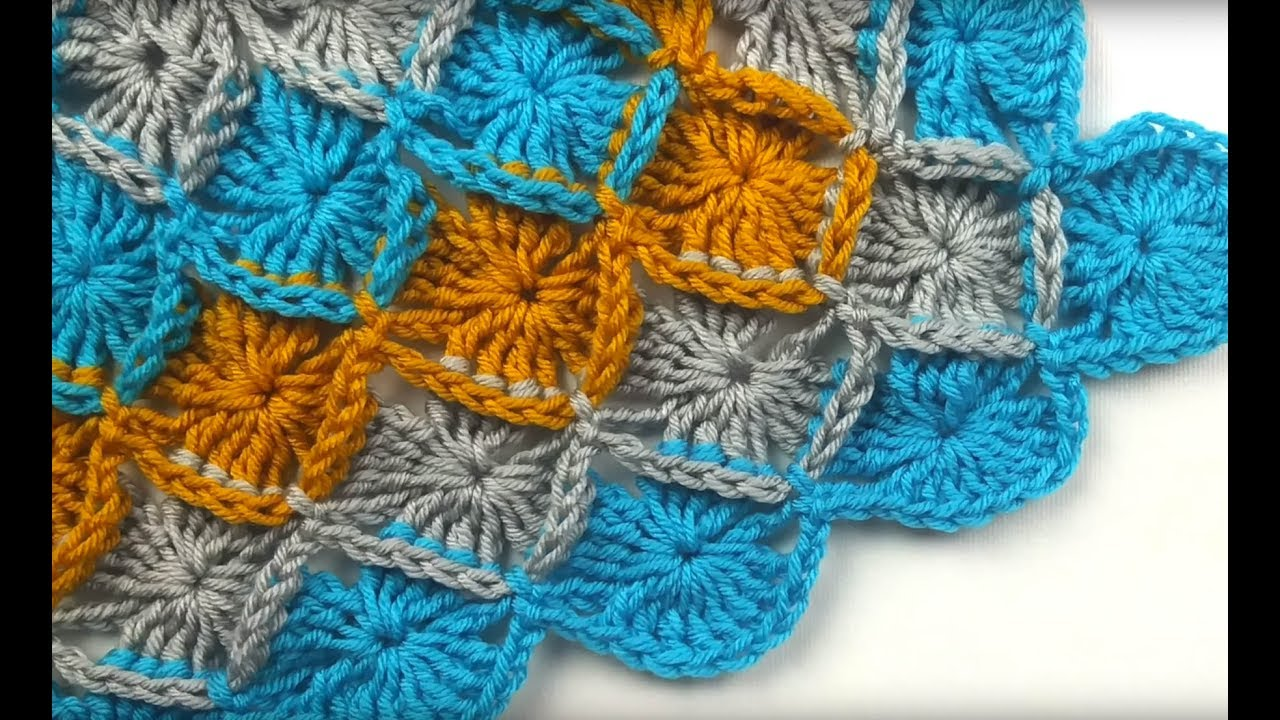 Bavarian Crochet Stitch Tutorial Youtube