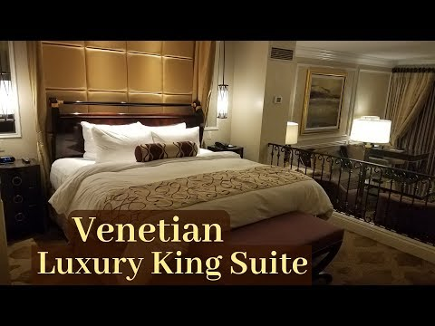 Venetian Las Vegas - Luxury King Suite