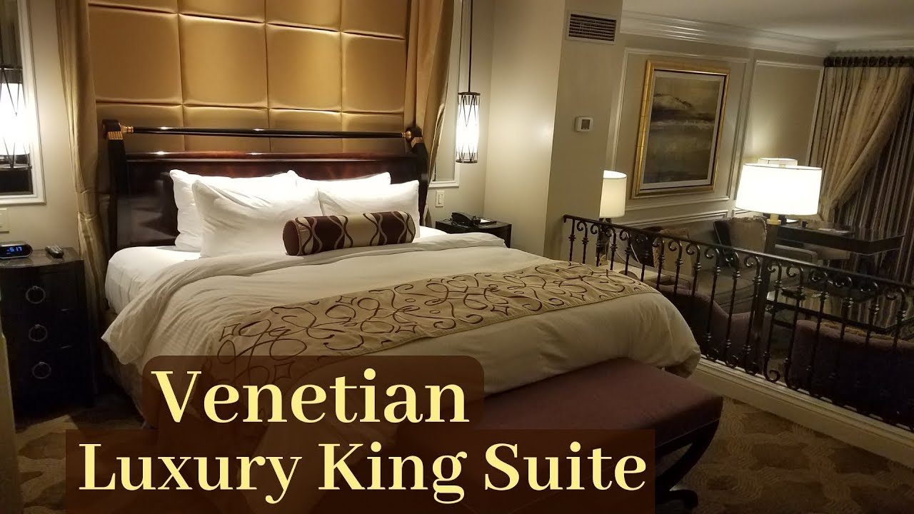 Venetian Las Vegas Luxury King Suite