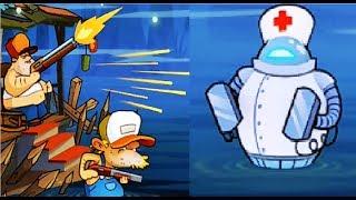 БОЛОТНАЯ Атака #27 Мультик Игра для детей Swamp Attack Мульт ИГРА #Мобильные игры