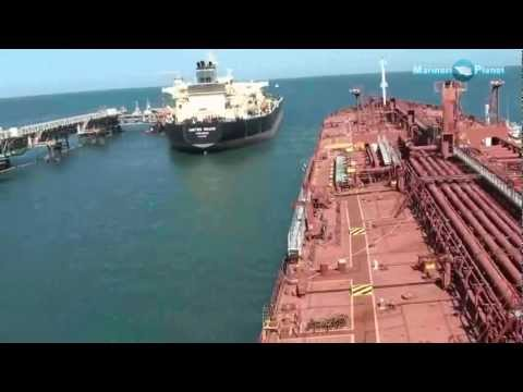 Merchant Navy Ship Berthing video Demo