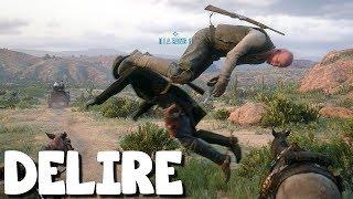 LES BANDITS VIN GAZOLE ET JOHNNY PÈTE (Vidéo-Délire) Red Dead Redemption 2 Online avec Saw6 #09