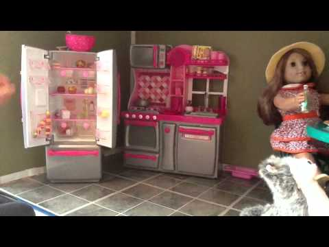 Awesome American Girl Dollhouse And Kit S Treehouse Youtube