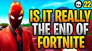 """The End of Fortnite"" - Is Fortnite REALLY Dying? (Fortnite Battle Royale)"