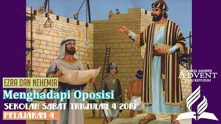 Sekolah Sabat Dewasa Triwulan 4 2019 Pelajaran 4 Menghadapi Oposisi (ASI)