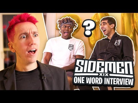 SIDEMEN ONE WORD