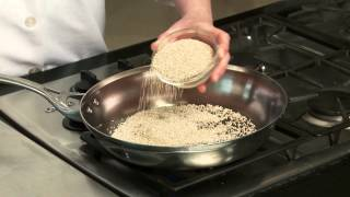 Los Angeles Times Test Kitchen Tip: Toasting Grains for Flavor