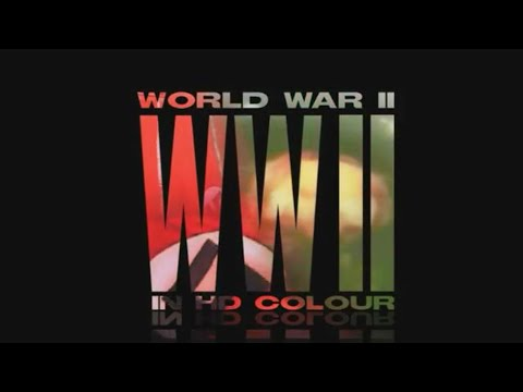 WWII in Color Part 1: The Gathering Storm