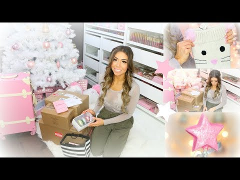 HUGE PO BOX UNBOXING AND HOLIDAY HAUL!!🎄❄️💕 -SLMissGlam🎄❄️💕
