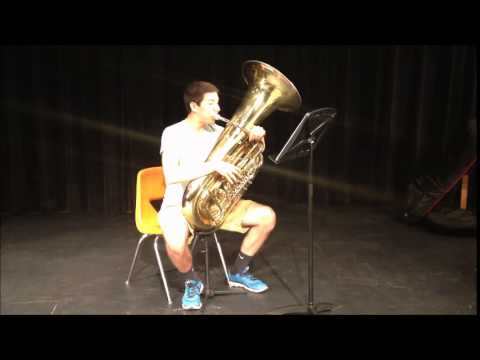 Penn State Honors Music Institute 2014 Audition - Tuba