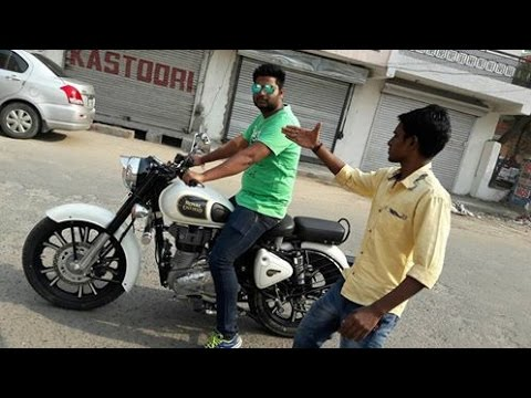 new royal enfield classic 350 white review youtube