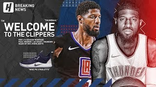 BREAKING: Paul George Traded to the Clippers! Welcome to Los Angeles with Kawhi! (2019)