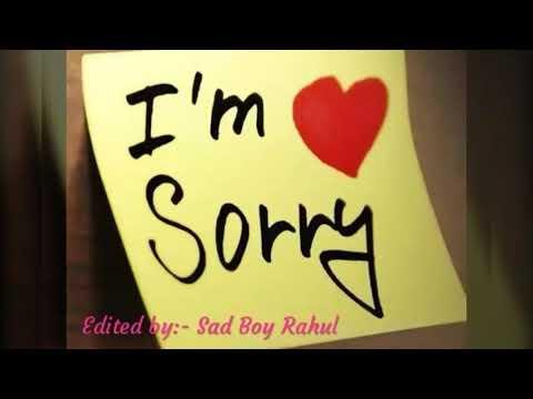 Sorry!! | Sad | Story | Edited By:- Sad Boy Rahul | শুধু তোমার গল্পঃ