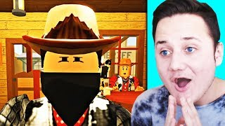 *REACTING TO A NEW ROBLOX MOVIE* - Phantom Of The West