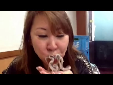 Eating Live Octopus In Korea Youtube
