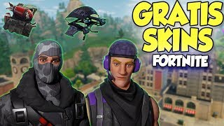 New FREE SKINS & GLEITER in Fortnite ! - How to get it (Camouflage Raptor)