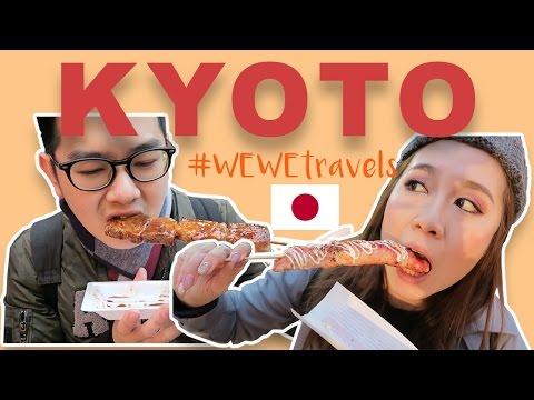 Street food in Kyoto! | Day 5 in Japan