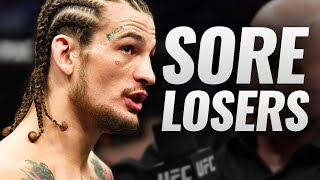 10 Fighters Who Were Sore Losers (UFC)