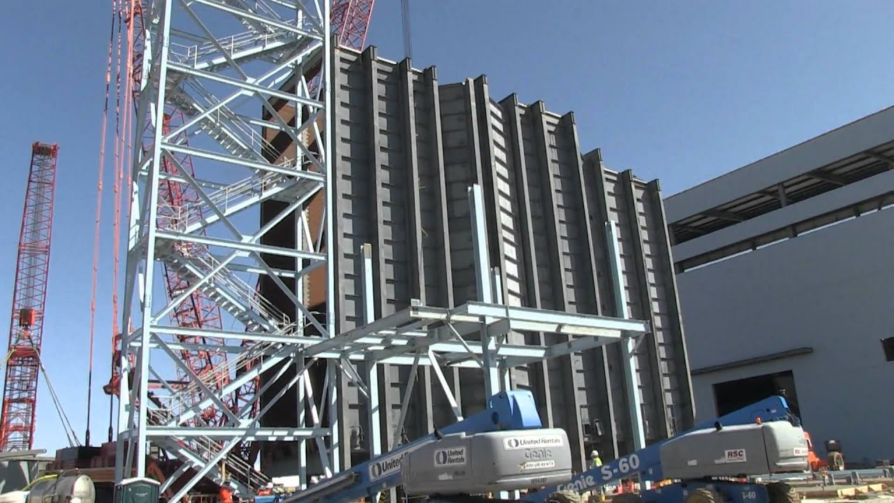 Big lift Heat recovery steam generator modules at Deer Creek
