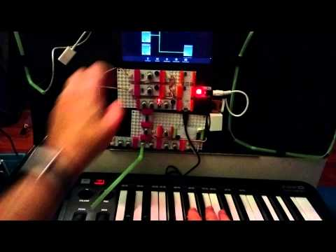 Littlebits midi synth demo