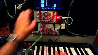 Littlebits midi synth demo