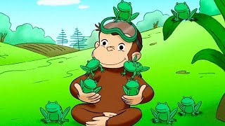 Curious George Curious George Discovers The Poles Kids Cartoon  Kids Movies Videos for Kids