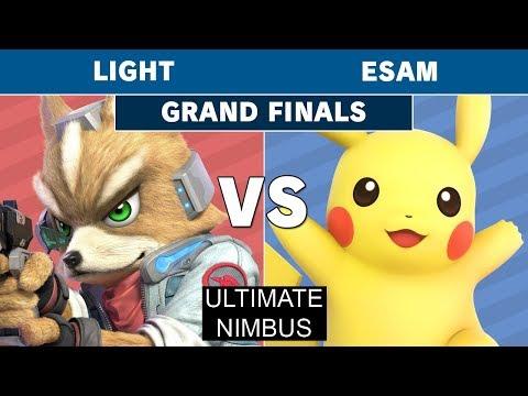 Ultimate Nimbus - Rogue | Light (Fox) Vs.PG | ESAM (Pikachu) Grand Finals - Smash Ultimate thumbnail