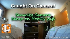 Setting Up WiFi Cameras Using Public, Hotel or Free WiFi -  Wyze Cam + Gli net mini router