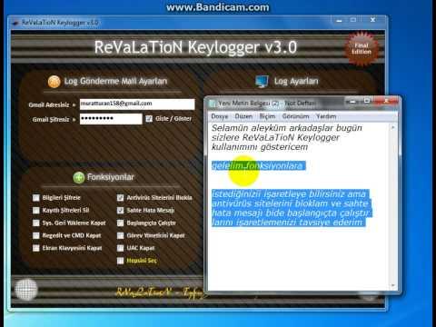 Şifre Kayıt Programı Türkçe
