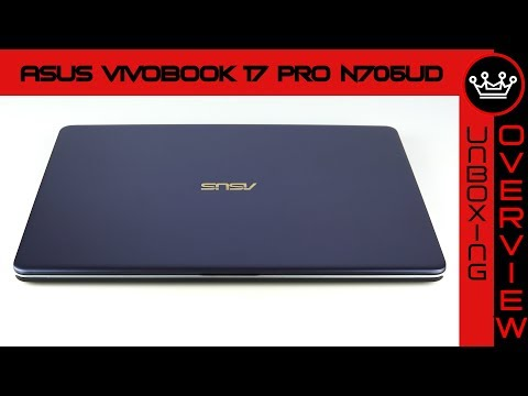 Asus Vivobook 17 Pro N705UD (2018) | Quick Unboxing & Overview