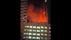 Ajman one tower tower6 before getting fire