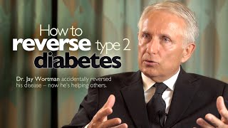 How to Cure Type 2 Diabetes(Jay Wortman, MD, tells the story of how he got rid of his rampant type 2 diabetes, using a simple dietary change. Ten years later he is still free from the disease ..., 2013-05-30T08:45:30.000Z)