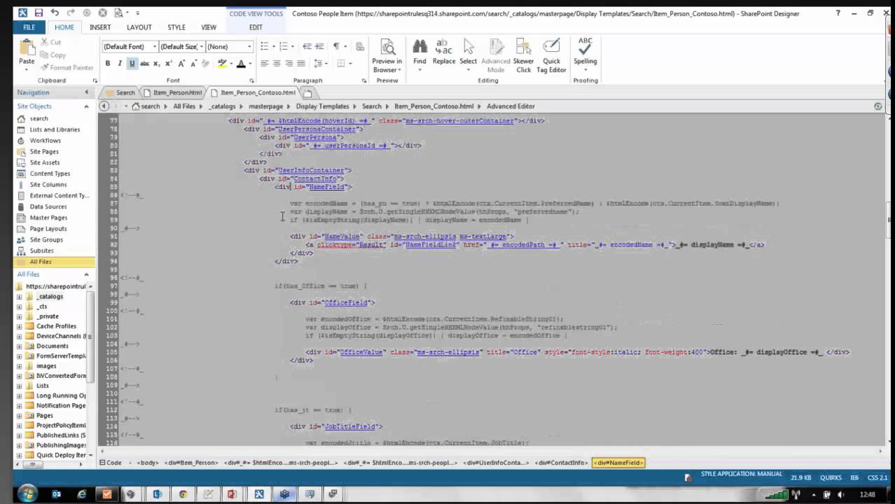 SharePoint 2013 Tutorial: Creating an Employee Directory in ...