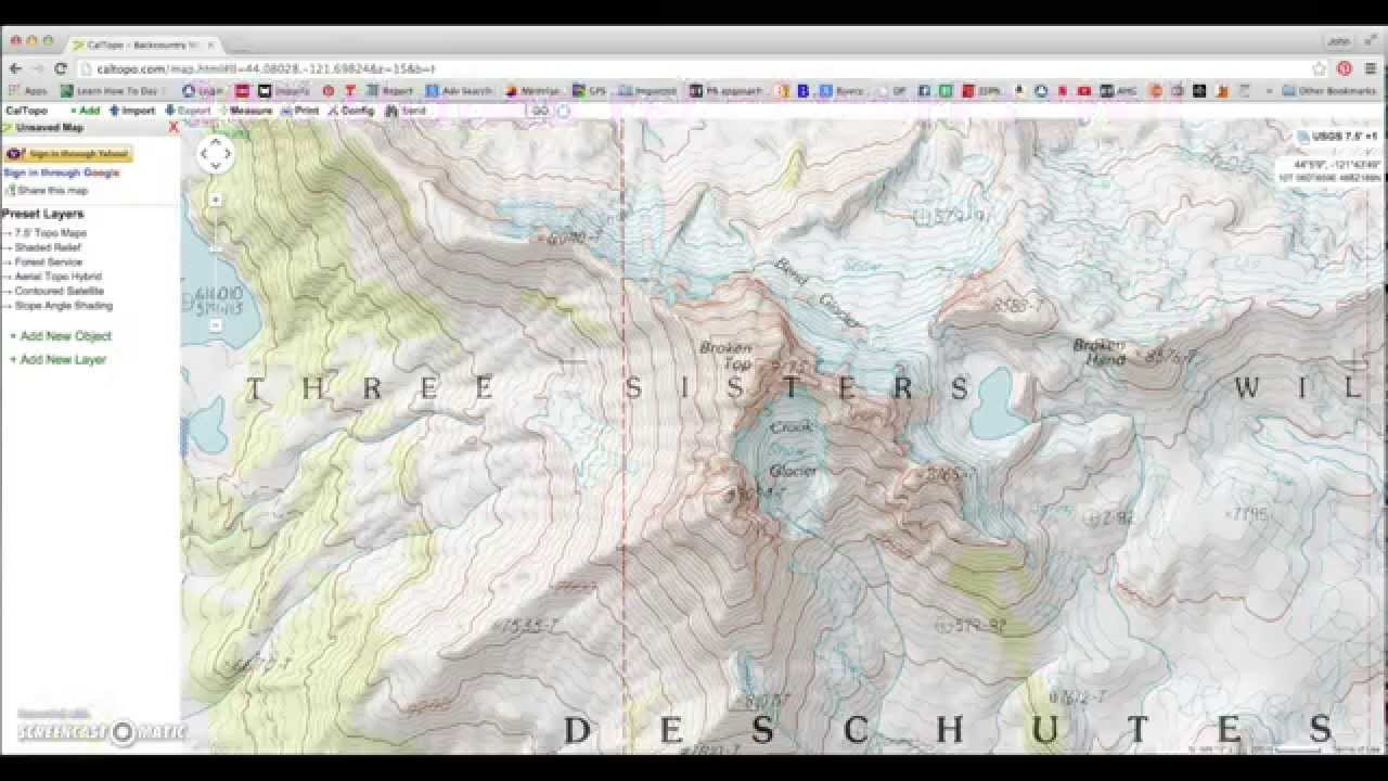 Caltopo tutorial free topo maps youtube caltopo tutorial free topo maps gumiabroncs Images