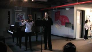 Beethoven Duet #1  Flute and Clarinet, 1st Movement
