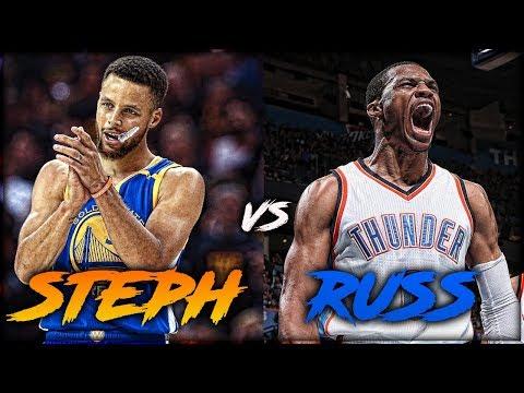Russell Westbrook vs Stephen Curry - NBA Battlegrounds #1 (Pt. 2)