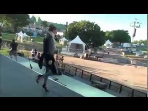 Celine Dion Une Seule Fois - Backstage - Québec City 25/07/2013