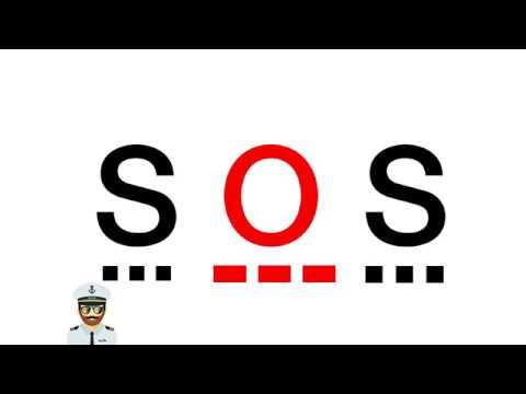 Maritime Distress Signals as per COLREGS