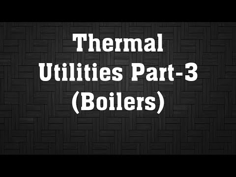Energy Efficiency in Thermal Utilities