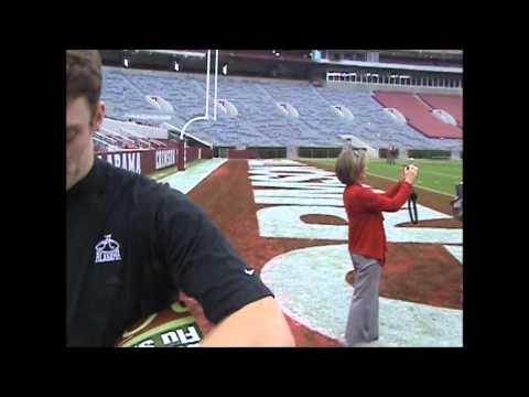 The Best Pass Ever By Greg McElroy To Grant Woodruff