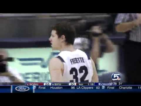 Jimmer VS SDSU January 26, 2011.. Jimmer goes for 43!!! CRAZY NIGHT