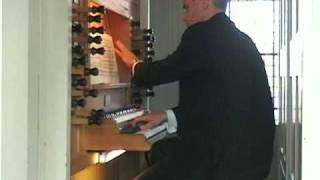 Arjan Breukhoven plays the Gigue Fuga BWV 577 of J.S. Bach